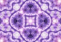 Artwork ~ Soft Purple Pure White Light of Inner Magic
