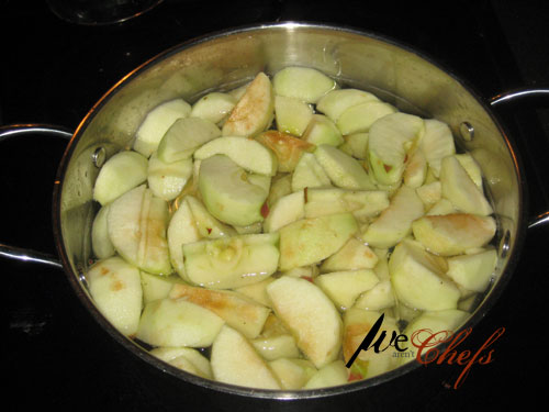 Boiling Apples