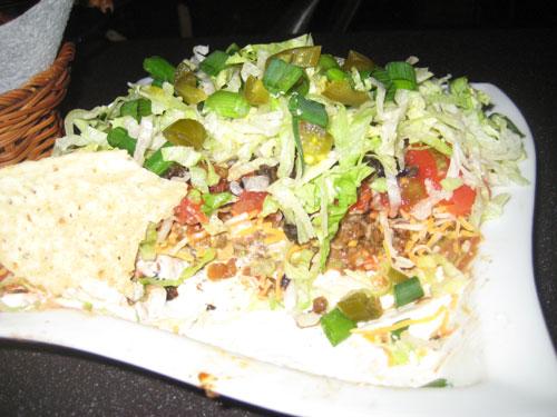 Eaten Taco Dip