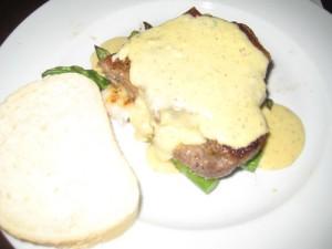 Steak w/ Beranaise Sauce